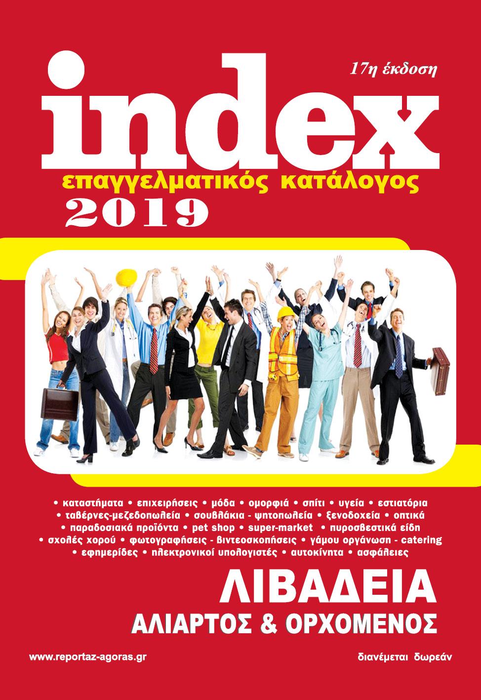cbb5032d857 ENNEA NEWS : Επαγγελματικός Κατάλογος Index Λιβαδειά 2019