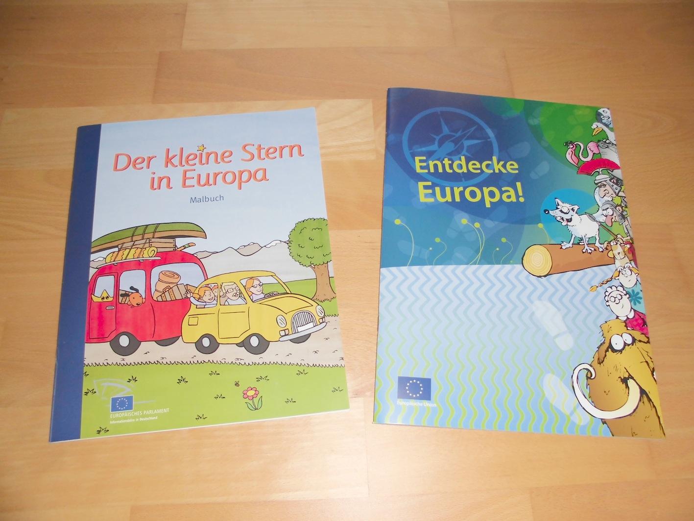Materialwiese KOSTENLOS Europa in der Grundschule