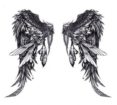 Angel Wings And Guitar Tattoos 1000 39s Of Tattoo Designs