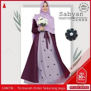 Jual RRJ052D108 Dress Muslim Sabyan Wanita Plus Khimar Vg BMGShop