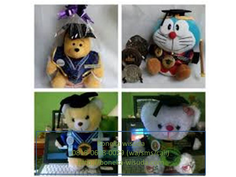 Boneka Wisuda Sorong  2bb764faa2