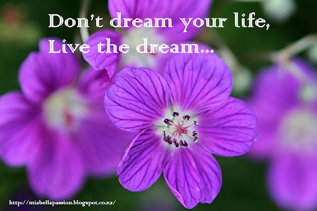 Live The dream quote