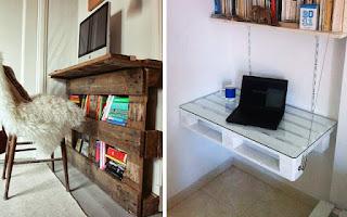 Como hacer muebles con estibas de madera