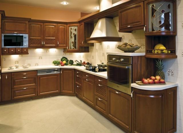 Кухни из дерева от производителя
