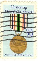 Honoring Those Who Serverd - Desert Shield