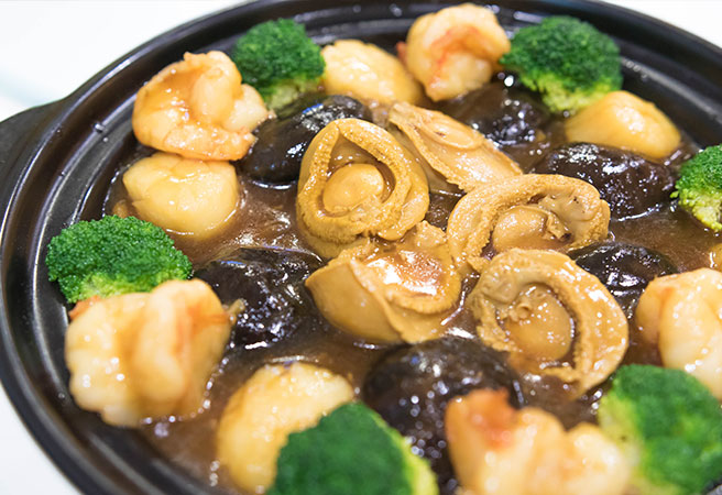 Special Seafood in Claypot