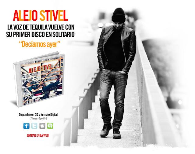 Concierto de Alejo Stivel en las fiestas de la Paloma 2012