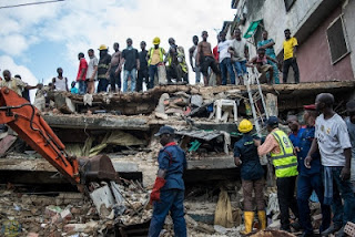 8 Confirmed Dead, 15 Rescued As Building Collapses In Lagos Island 1