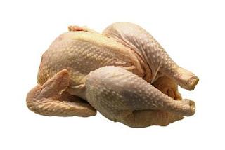 memilih daging ayam