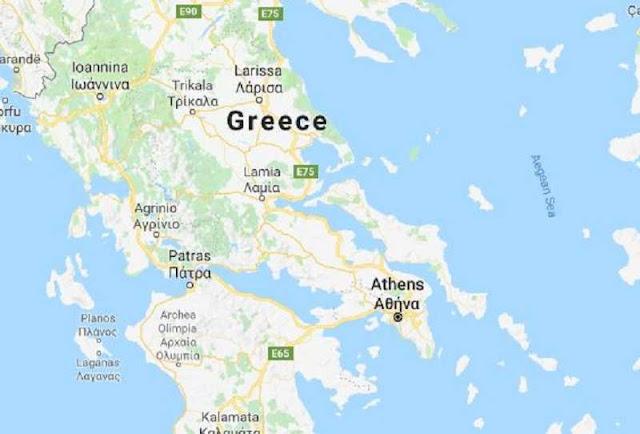 Strong 6.8 magnitude quake strikes off Greece