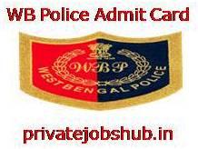 WB Police Admit Card