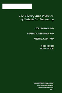 The Theory And Practice Of Industrial Pharmacy - 3rd Edition free download