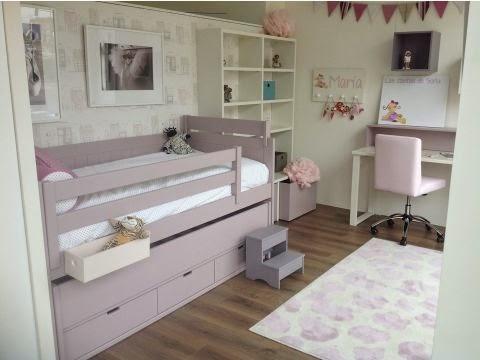 Dormitorios infantiles por m dulos for Distribucion habitacion juvenil