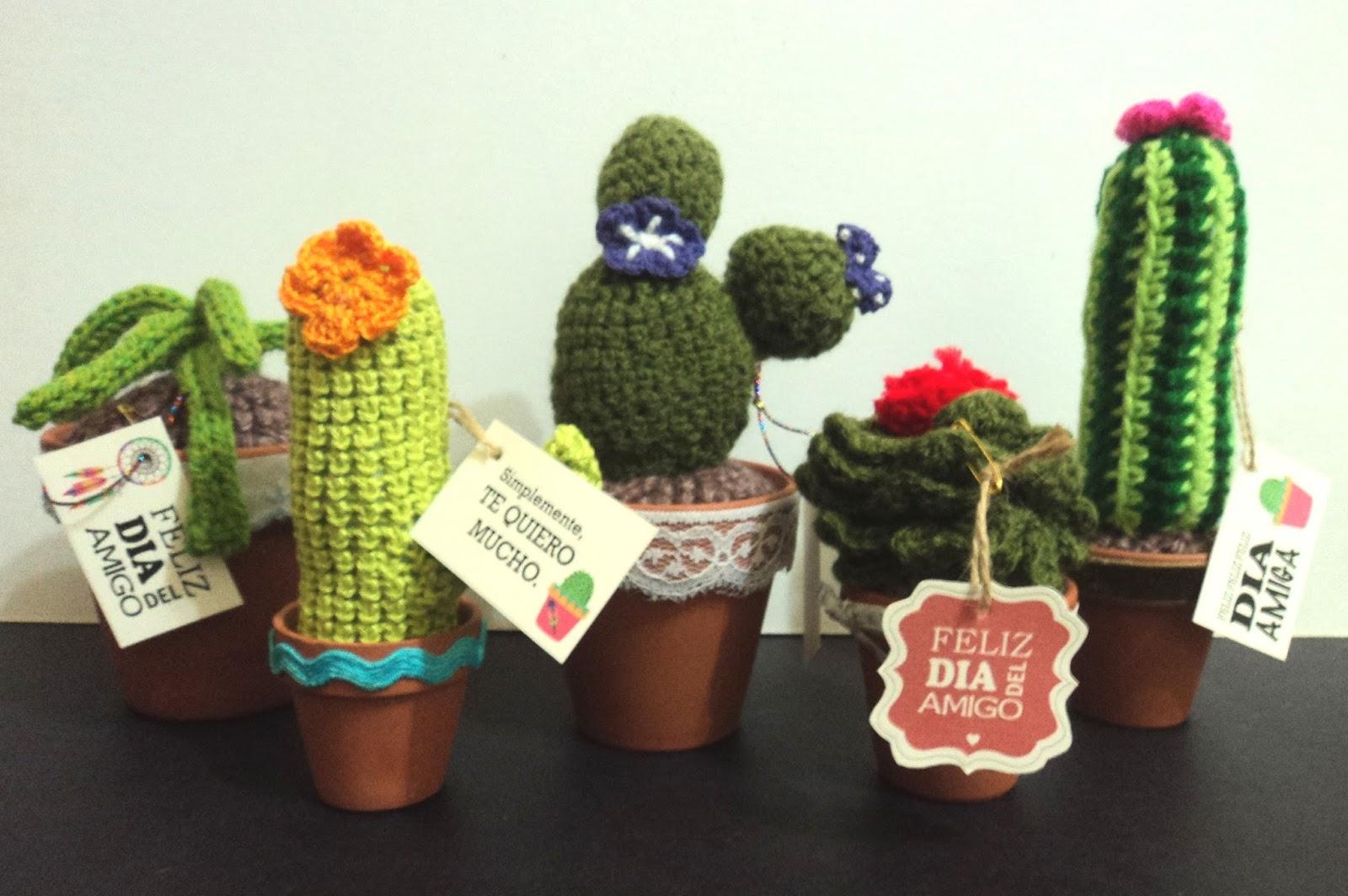 Amigurumi Cactus Tejido A Crochet Regalo Original : Tutorial de artesanías cactus tejidos al crochet
