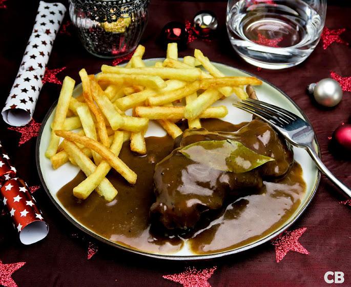 Limburgs konijn in een zoetzure saus