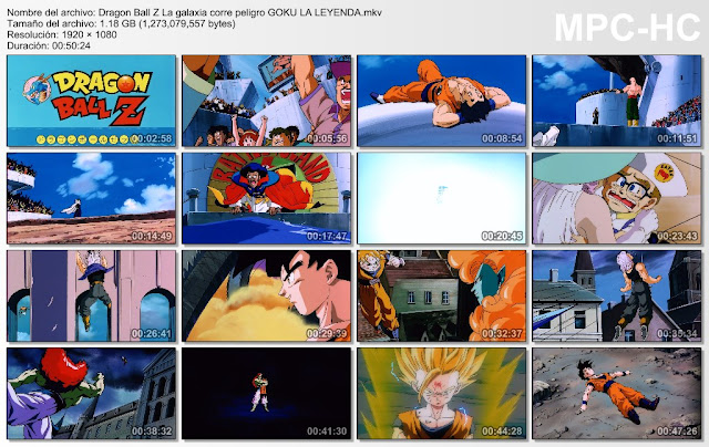 Descargar Dragon Ball Z La Galaxia Corre Peligro Mega y Mediafire