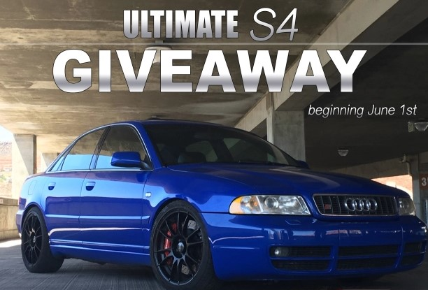 Speed Faction wants you to enter as often as you like for a chance to win a customized 2000 Audi S4 Quattro vehicle worth more than $20,000!
