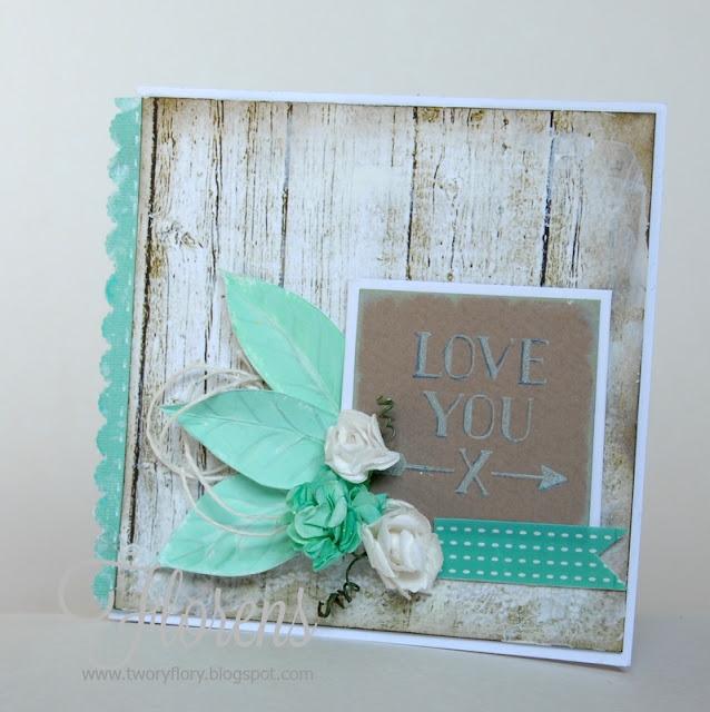 hand made card love