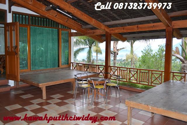 Booking villa di area wisata kawah putih dari batang