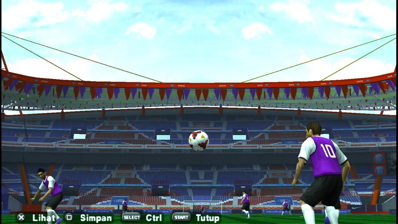 Stadium Parc des Princes Texture For PES PSP - NGM Pes Team