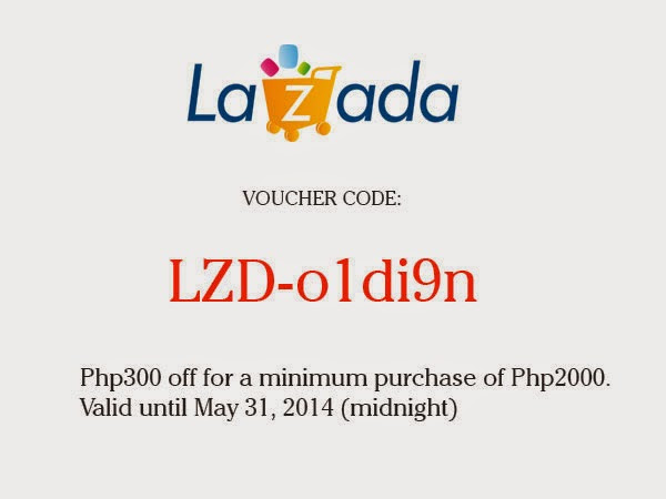 Lazada Voucher Code for My Valued Readers in PH!