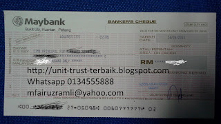 Cash Investment Unit Trust Islamic Terbaik Malaysia