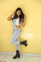 Neha Deshpande in Spicy Denim Jumpsuit and Whtie Crop Top March 2017 142.JPG