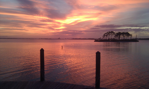Sunset Grilled Perdido Key