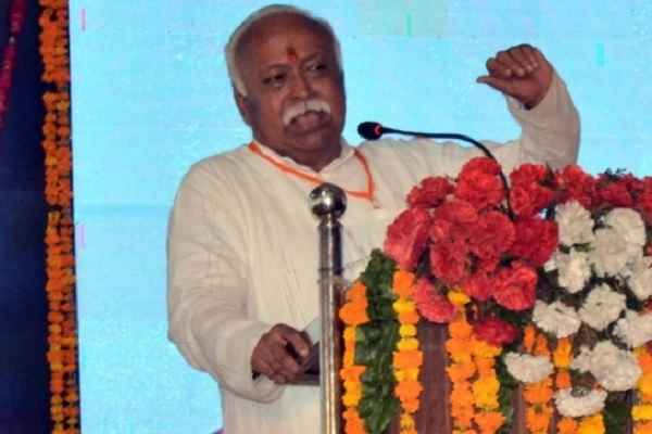 Pakistan encouraging separatist forces in Kashmir: Mohan Bhagwat