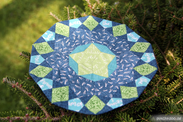 stitchydoo: La Passacaglia Mini - English Paper Piecing Untersetzer