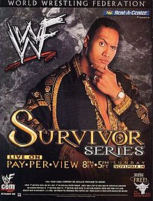 WWE / WWF Survivor Series 1999 - Event poster