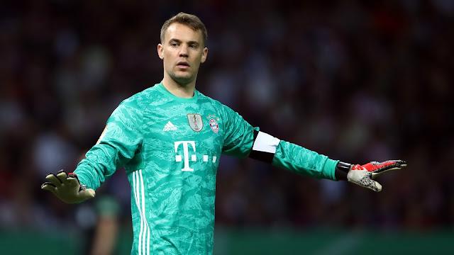 Neuer lên tiếng về việc sắp bị Nubel thay thế.