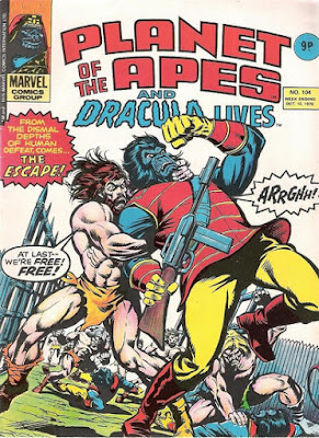 Marvel UK, Planet of the Apes #104