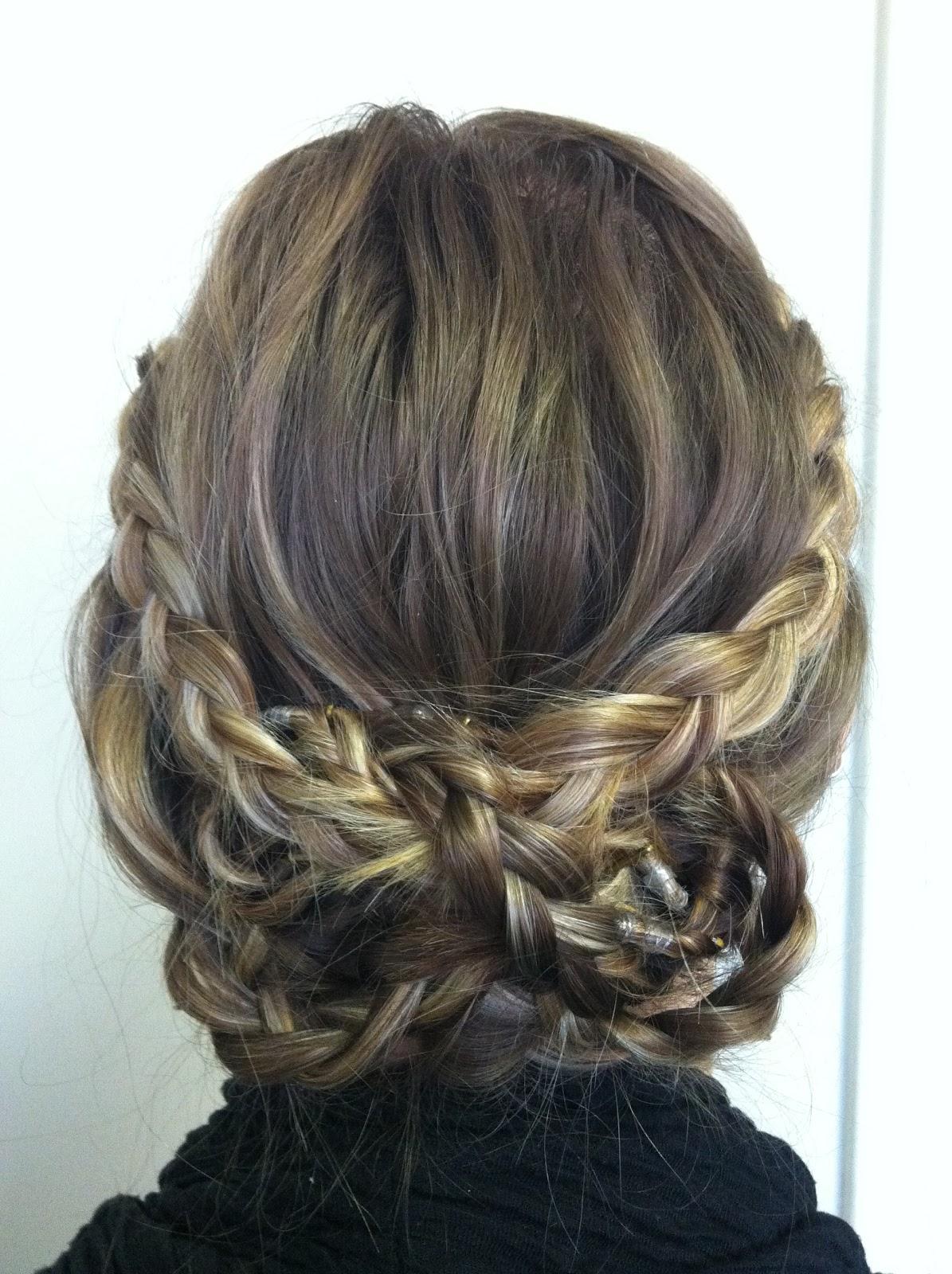 Bye Bye Beehive │ A Hairstyle Blog: The Braided Bun
