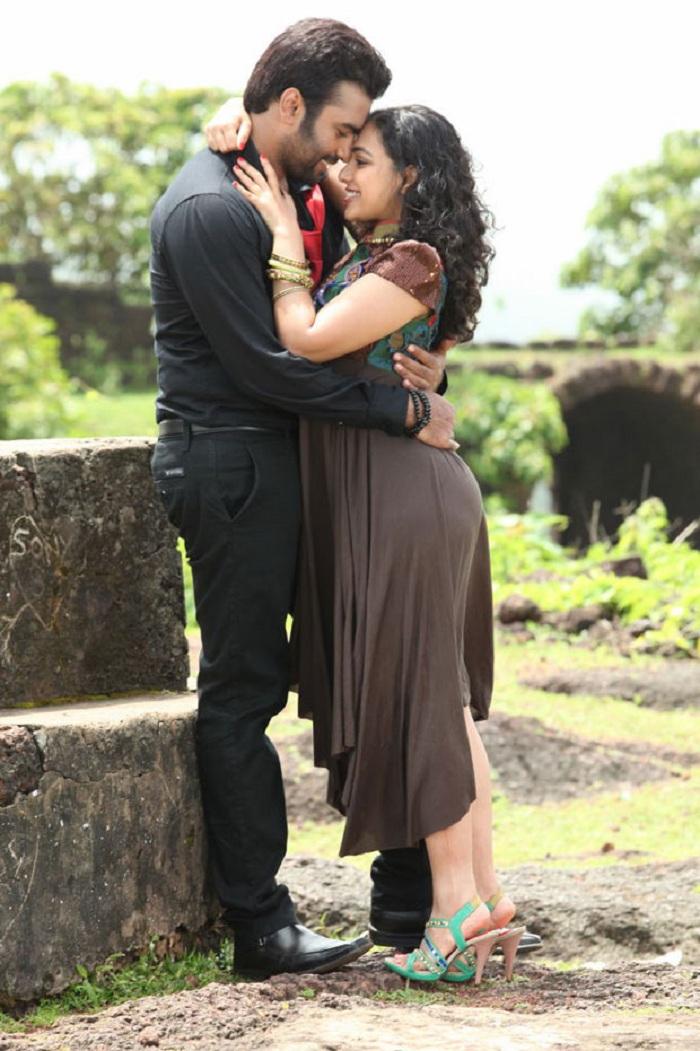 Nithya Menon Hot Stills In Okkadine Movie Indian Actress