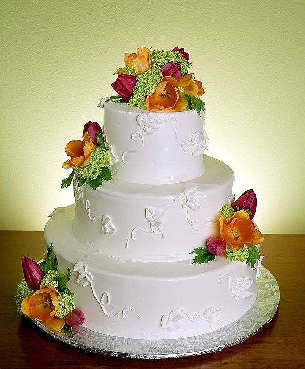 Beautiful Wedding Cakes .....