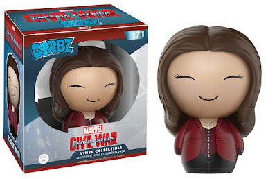 Captain America: Civil War Scarlett Witch Dorbz Vinyl Figure by Funko x Marvel