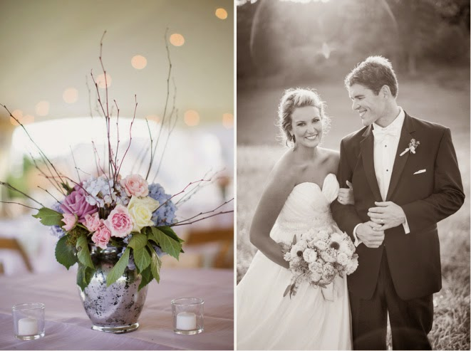 Shabby Chic Meets French Country Wedding - Belle The Magazine