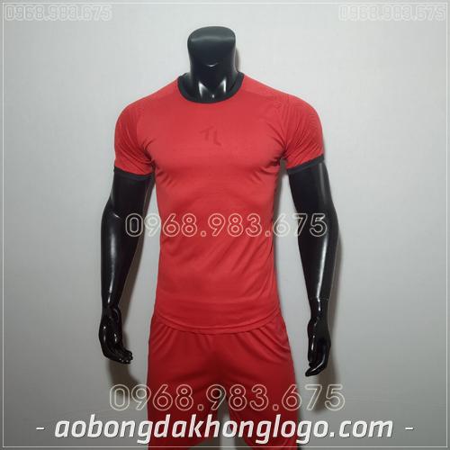 Áo bóng đá không logo TL Ya  màu đỏ