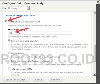 proses pembuatan slider dengan views bootstrap 4