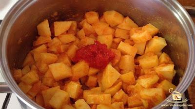 Supa de cartofi - etapa 7