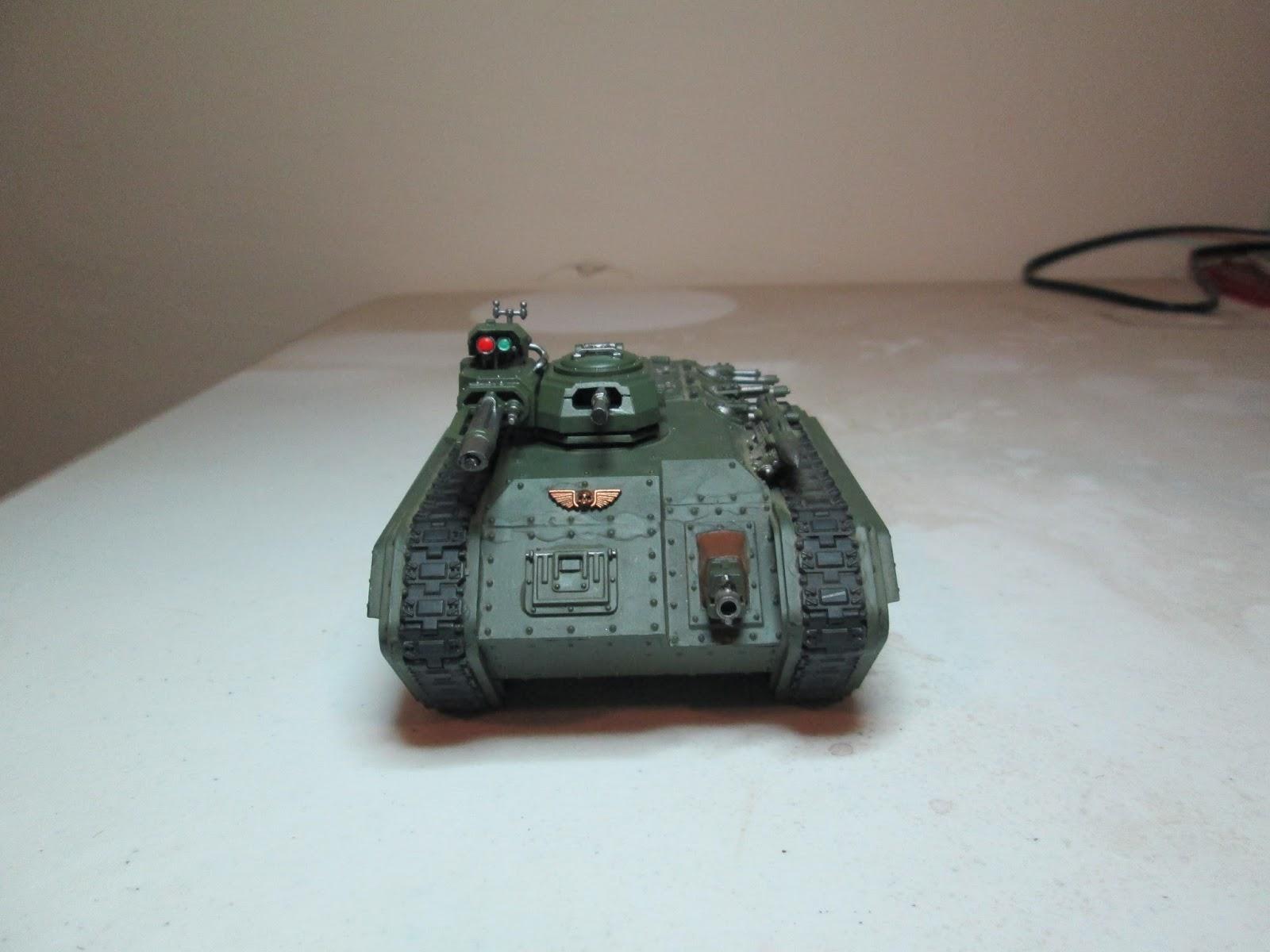 Imperial Guard Chimera Vox Caster Antenna Bits