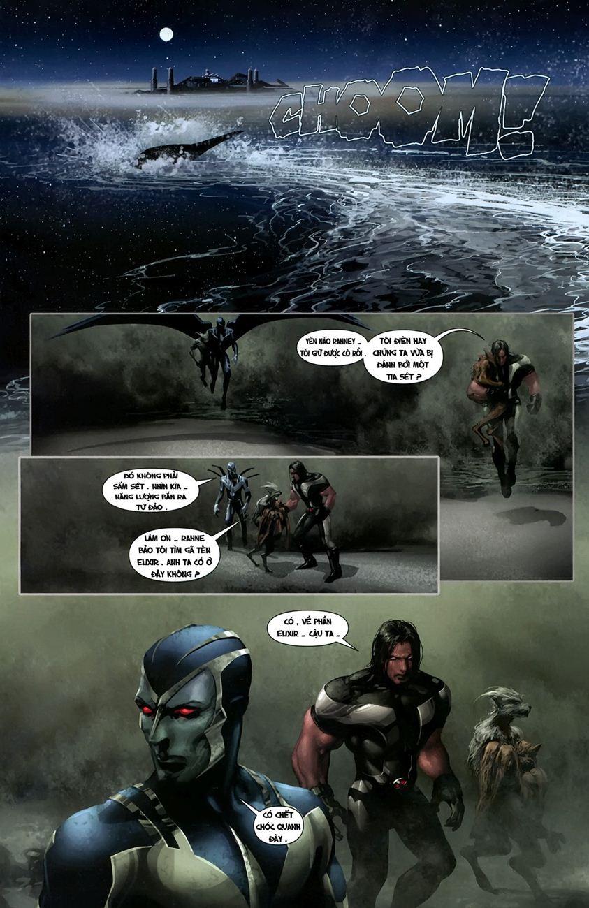 X-Men Necrosha chap 1 trang 19