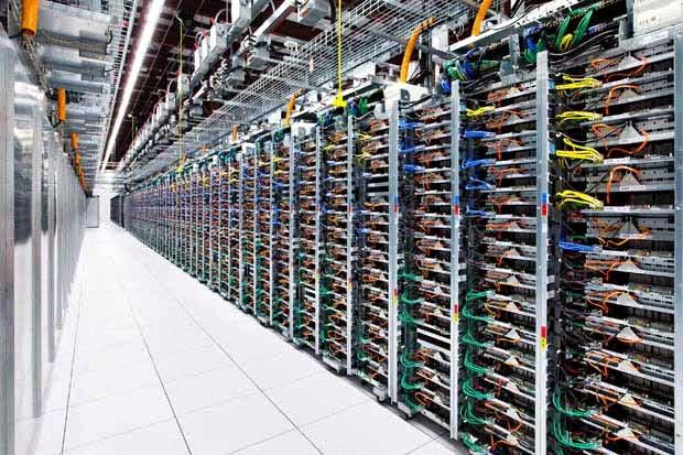 Amazing Google Data Center  -  Canggih & Menawan