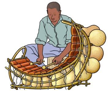 西アフリカのバラフォン