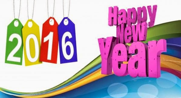 Happy New Year 2016 Images for Google Plus