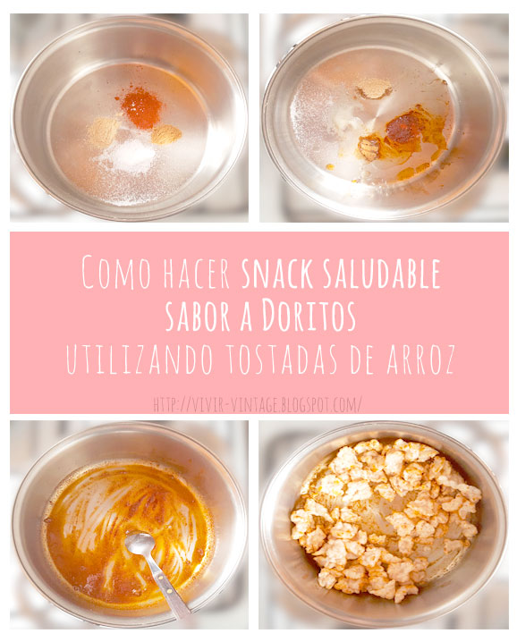 snack saludable sabor doritos fototutorial