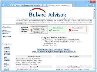 Belarc activation code