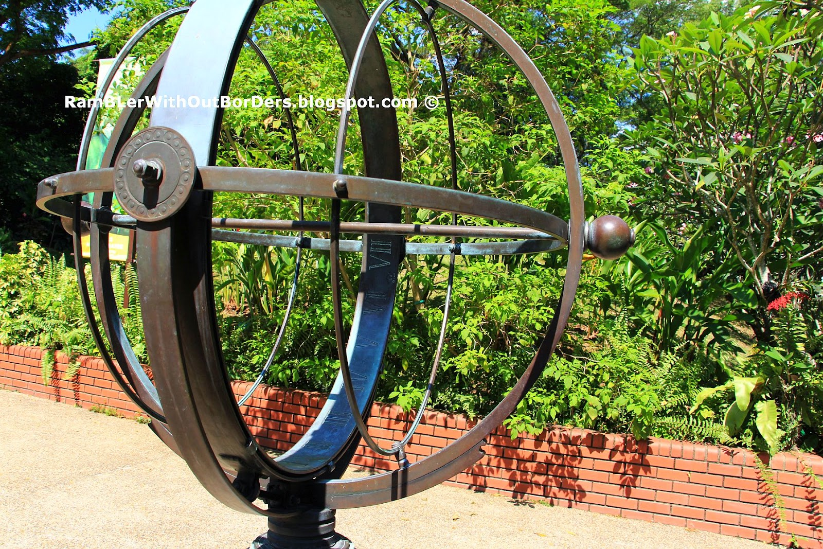 Sundial, Jurong Bird Park, Singapore