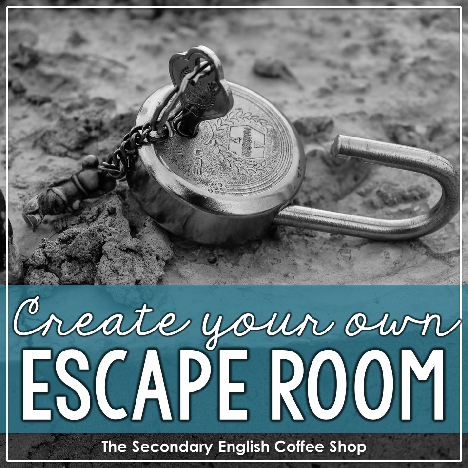Create your own escape room the secondary english coffee - Create your own room ...